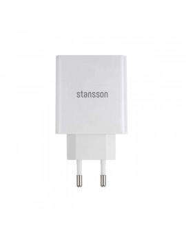 Stansson CH-200-W 2,1A univerzális fehér hálózati töltő
