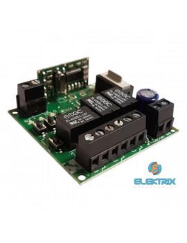 TECNO TRX3 12V/3 csatornás/fix kódos/vevő