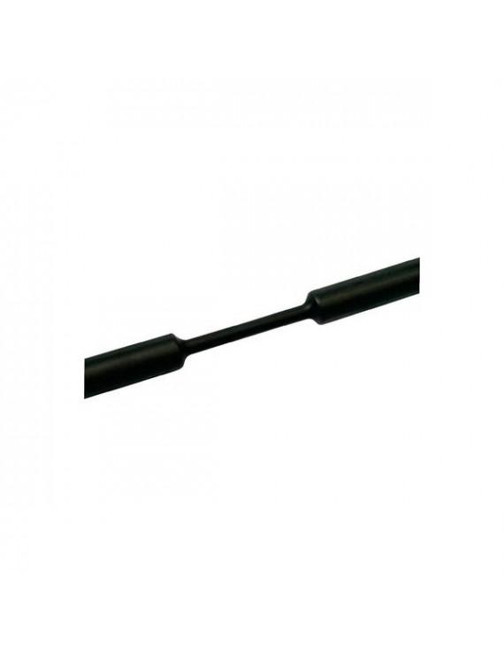 Tracon ZS016 1,6-0,8 mm 100db/csomag fekete zsugorcső