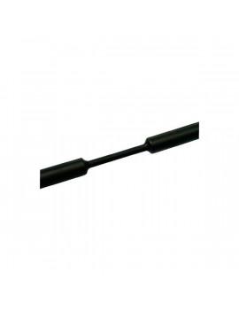 Tracon ZS024 2,4-1,2 mm 100db/csomag fekete zsugorcső