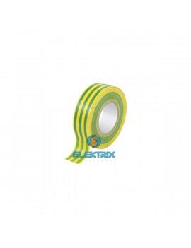 TRACON ZS20 18 mm x 20 m zöld-sárga szigetelőszalag