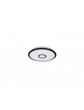 TRIO 679114232 Okinawa fekete távirányítós LED mennyezeti lámpa