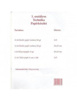 1. osztályos technika csomag
