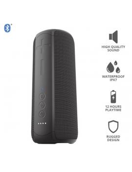 Trust Caro Max vezeték nélküli Bluetooth fekete hangszóró
