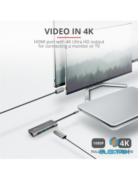 Trust Dalyx USB-C 7 in 1 multiport adapter