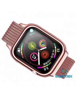 USAMS ZB67IW4 40mm rose gold Apple Watch Mágneses szíj és tok