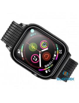 USAMS ZB68IW1 44mm fekete Apple Watch Mágneses szíj és tok