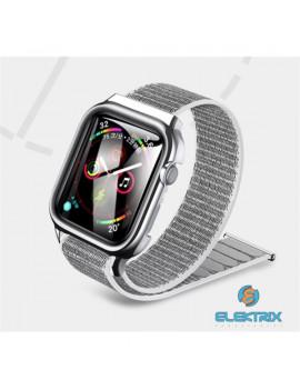 USAMS ZB74IW2 44mm ezüst Apple Watch szíj és tok