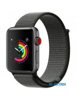 USAMS ZB74IW 44mm fekete Apple Watch szíj és tok