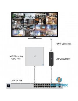 Ubiquiti UniFi 2xGbE LAN 1xHDMI port Protect ViewPort