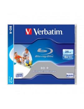 VERBATIM BRV-6N  BD-R nyomtatható normál tokos Blu-Ray lemez