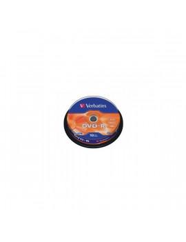 VERBATIM DVDV-16B10  DVD-R cake box DVD lemez 10db/csomag
