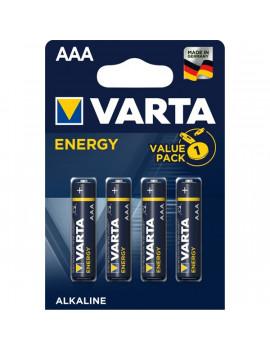 Varta 4103229414 Energy AAA LR03) alkáli mikro ceruza elem 4db/bliszter