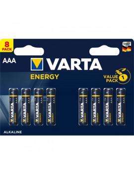 Varta 4103229418 Energy AAA (LR03) alkáli mikro ceruza elem 8db/bliszter
