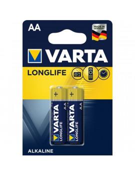 Varta 4106101412 Longlife AA (LR6) alkáli ceruza elem 2db/bliszter