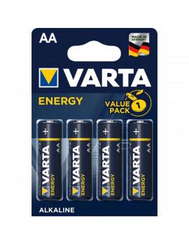 Varta 4106229414 Energy AA (LR6) alkáli ceruza elem 4db/bliszter