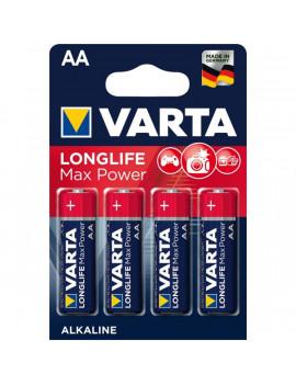Varta 4706101404 Max Tech AA alkáli ceruza elem 4db/bliszter