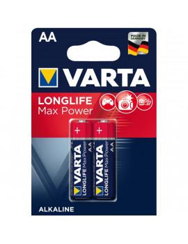 Varta 4706101412 Max Tech AA alkáli ceruza elem 2db/bliszter