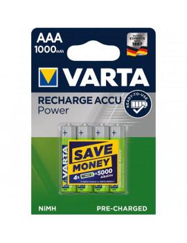 Varta 5703301404 Ready2Use AAA (HR03) 1000mAh akku 4db/bliszter