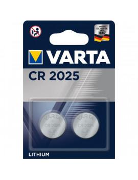 Varta 6025101402 CR2025 lithium gombelem 2db/bliszter