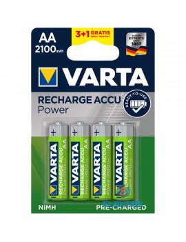 Varta AA 2100mAh NiMh akku 3+1 db/bliszter