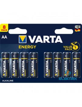 Varta 4106229418 Energy AA (LR6) alkáli ceruza elem 8db/bliszter