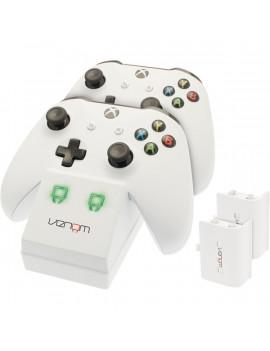 Venom VS2859 Xbox One fehér töltőállomás + 2 db akkumulátor