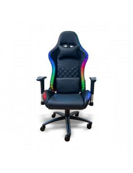 Ventaris VS800LED LED világítással fekete gamer szék