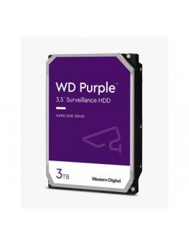 Western Digital 3,5 3TB belső SATAIII 5400RPM 64MB PURPLE WD30PURX merevlemez