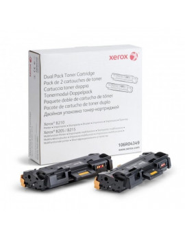 Xerox 106R04349 fekete duopack toner