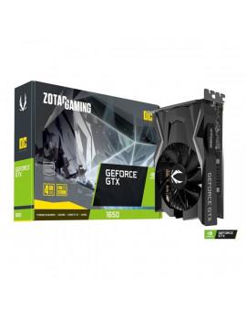Zotac GAMING GeForce GTX 1650 OC nVidia 4GB GDDR6 128bit  PCIe videokártya