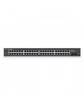 ZyXEL GS1900-48HP 48port GbE LAN PoE (170W) smart menedzselhető switch