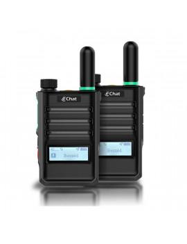 eChat Lite Duo E350 internetalapú 1 év díjmentes előfizetéssel 2db-os adóvevő csomag